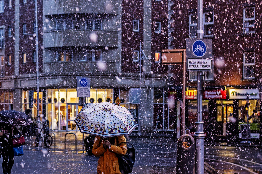 3d Winter Wallpaper Free Neve Dublin Irlanda Dublin Irlanda 29 De Janeiro De