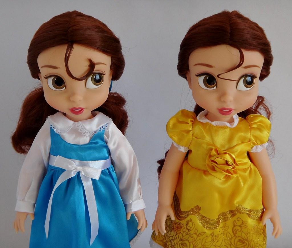 Pink Brown Eyeshadow 2011 Vs 2013 Belle Animator Doll - Disney Animators' Colle