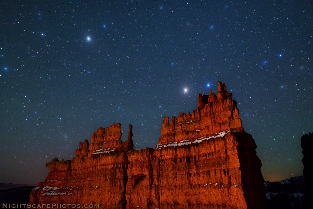 Google Wallpaper Hd 3d Stars Over Bryce Canyon Stars Over Quot The Fortress Quot Light