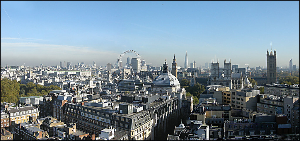 3d Roof Wallpaper Day 320 London Skyline London From The Roof Of 55