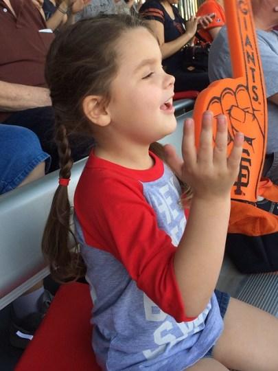 cheering for homeruns