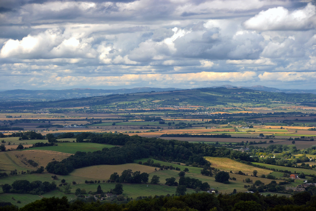 K 3d Wallpaper Vale Of Evesham The Vale Of Evesham From The Top Of The