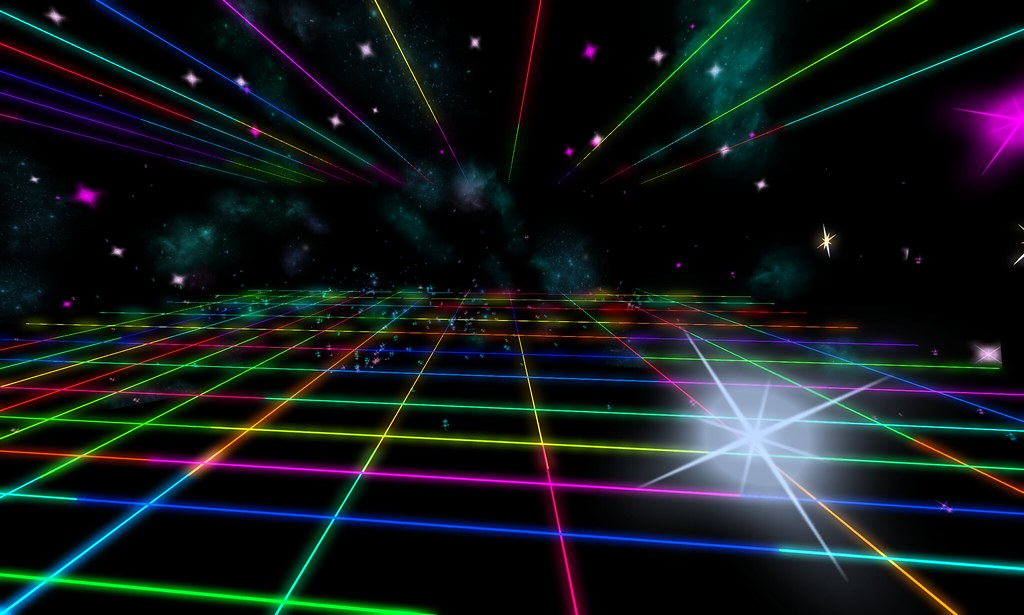 3d Grid Wallpaper All Kinds Of Synthwave Outrun Beautiful Neon Rainbow Grid