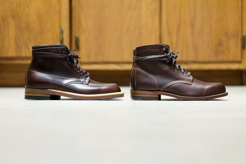 Alden 403 Indy Boot Vs Wolverine 1000 Mile Andy Flickr