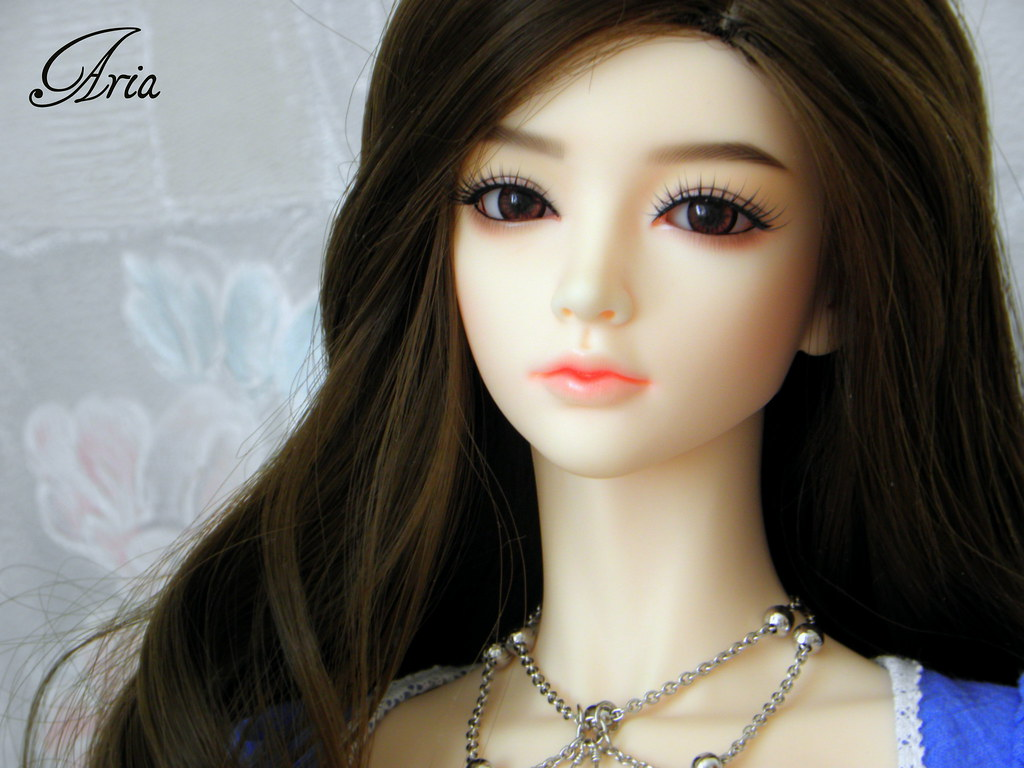 Cute Doll Image Wallpaper My Beautiful Doll Aria From Iplehouse Make Up A Normal