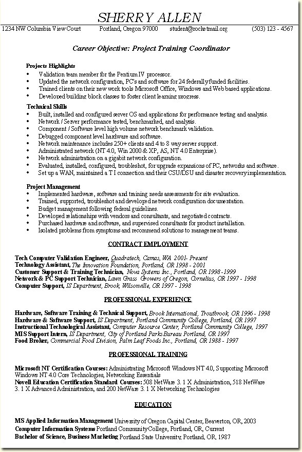 Project Coordinator Resume Example Project Coordinator Res\u2026 Flickr - training coordinator resume
