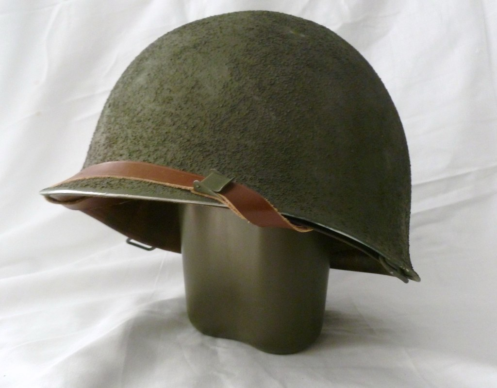 How To Paint Brick M1 Helmet | Really A Post-war Belgian M1 So I Could
