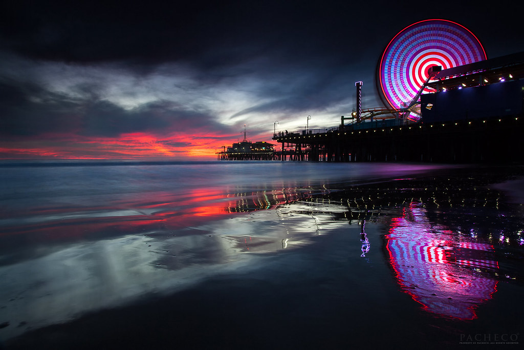 My Iphone Wallpaper The Memory Seeker Santa Monica Pier Ca Quot You Might Say