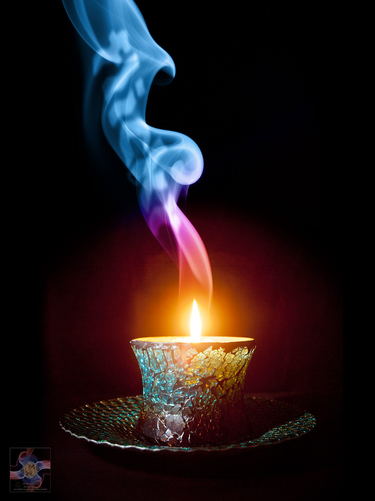 3d Colourful Wallpaper Candle In The Wind Smoke Art 674 Smoke Photo Art So