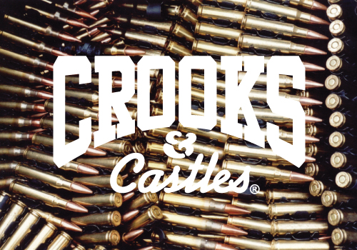 Message Wallpaper Hd Crooks And Castles Bullet Banner Crooks And Castles