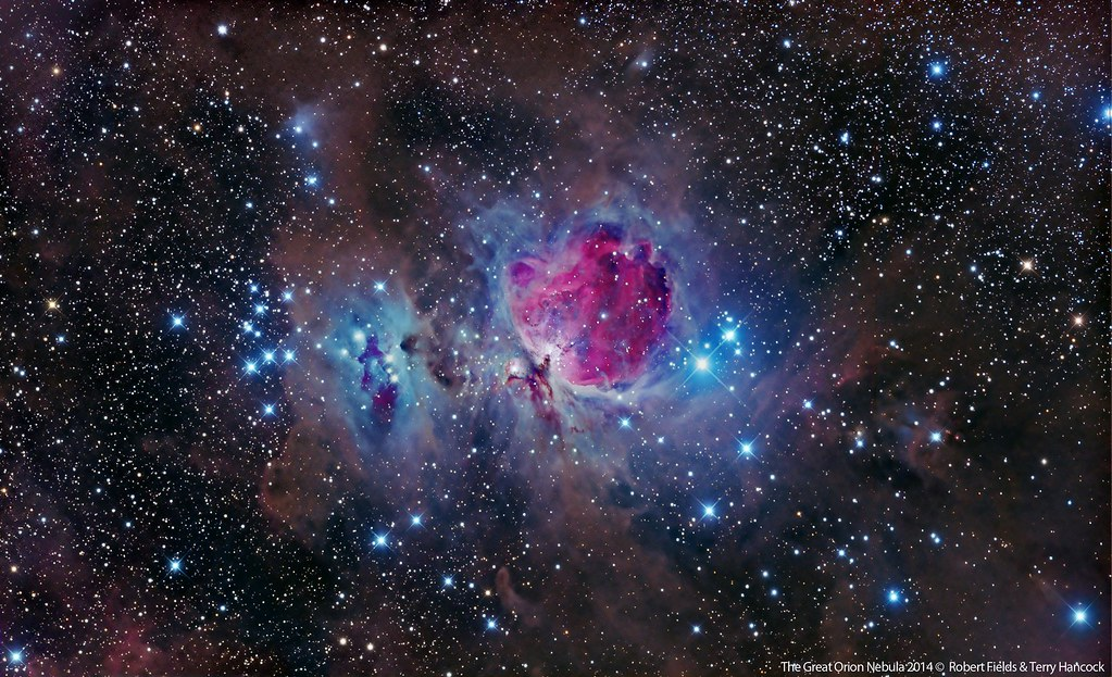 3d Pyramid Wallpaper The Great Orion Nebula M42 Region Lrgb Version This Is