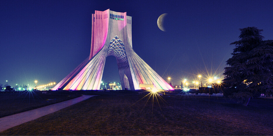 Revolution Wallpaper Hd Azadi Tower Iran The Azadi Tower Persian برج آزادی