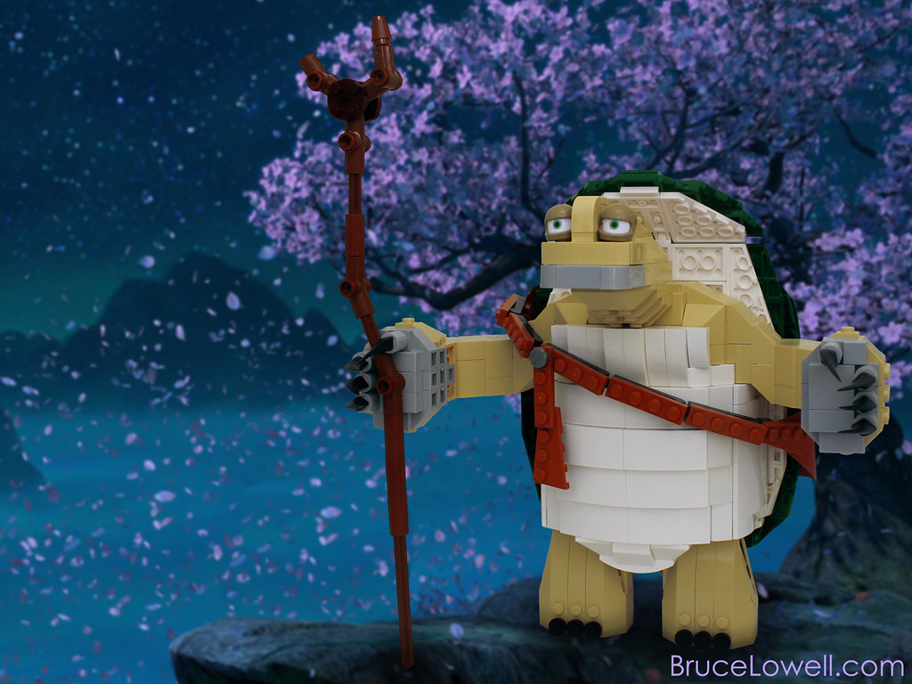 God Of War D Lego Master Oogway Oogway Is The Creator Of Kung Fu And