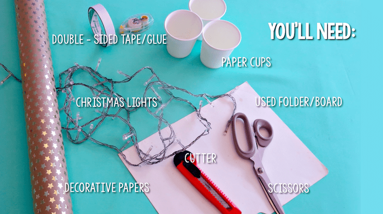 Homemade Parties DIY Party _ How to Make String Lights10