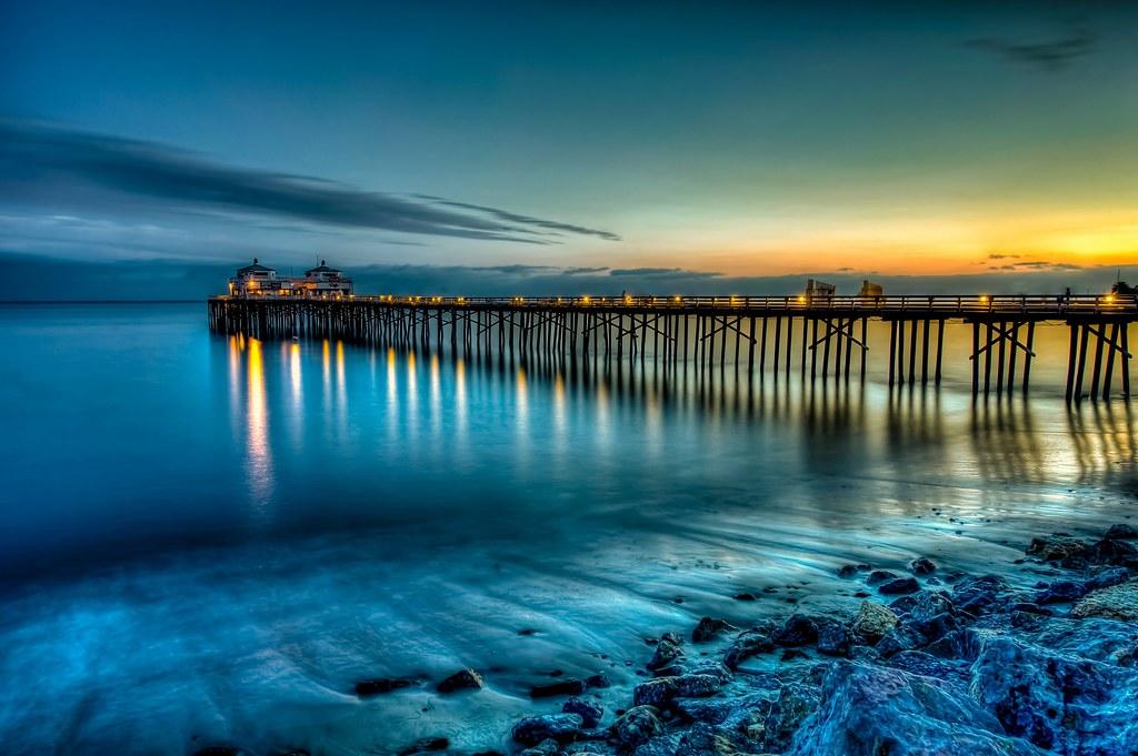 Calming Fall Wallpaper Hd Nikon D3x Hdr Socal Malibu Landscape Seascape Photograph