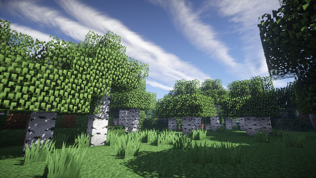 N Wallpaper 3d Hd Offene Lichtung Minecraft Wallpaper Flickr