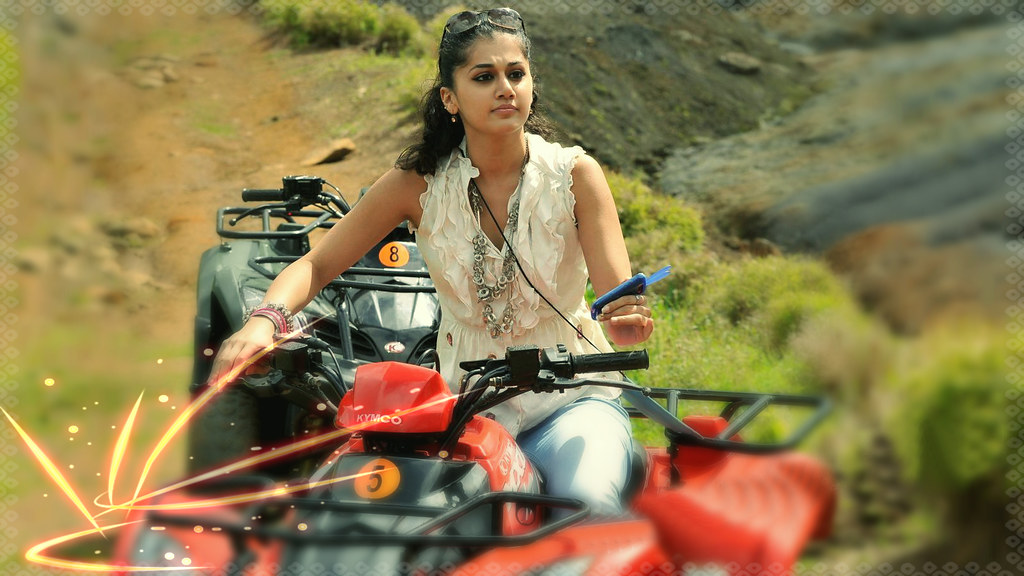 Cute Attitude Girl Wallpaper Download Taapsee Pannu Cute Girl In Baby 2015 Movie Wallpaper Sty