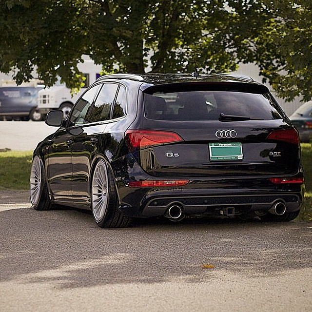 Audi Q7 Car Wallpaper Looks Pretty Cool Lowering A Q5 Audizine Audiworld Audi