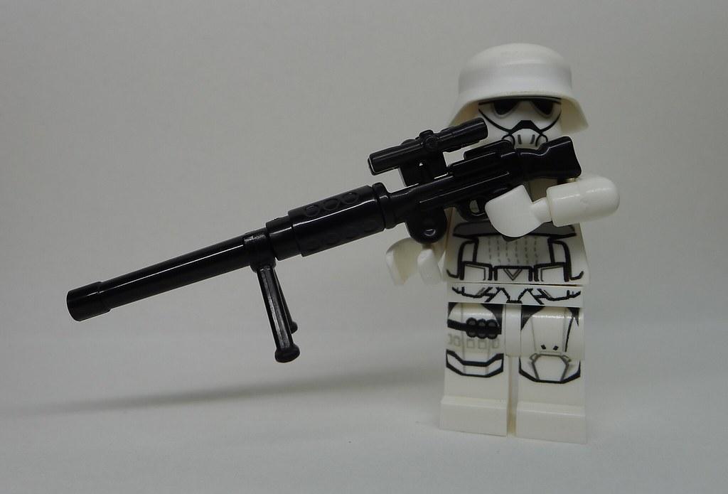 Gun Wallpaper 3d First Order Heavy Sniper With Dlt 80 Heavy Blaster Rifle