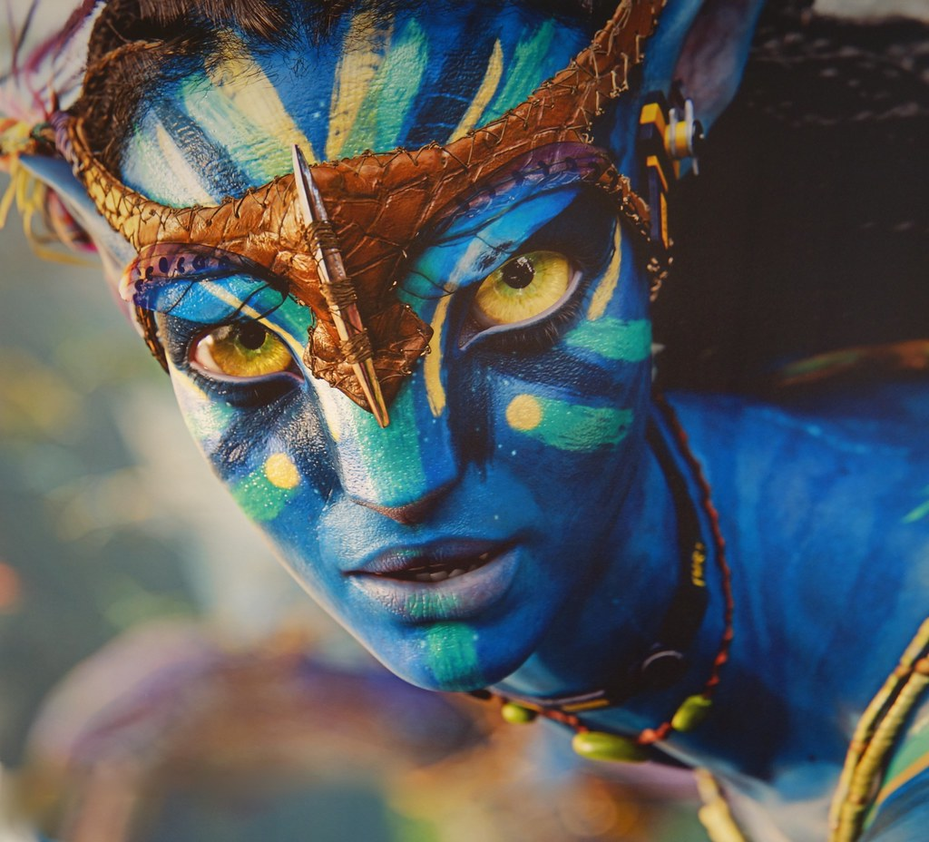 3d War Wallpaper Avatar Neytiri Larger Than Life Here Are My Photos From