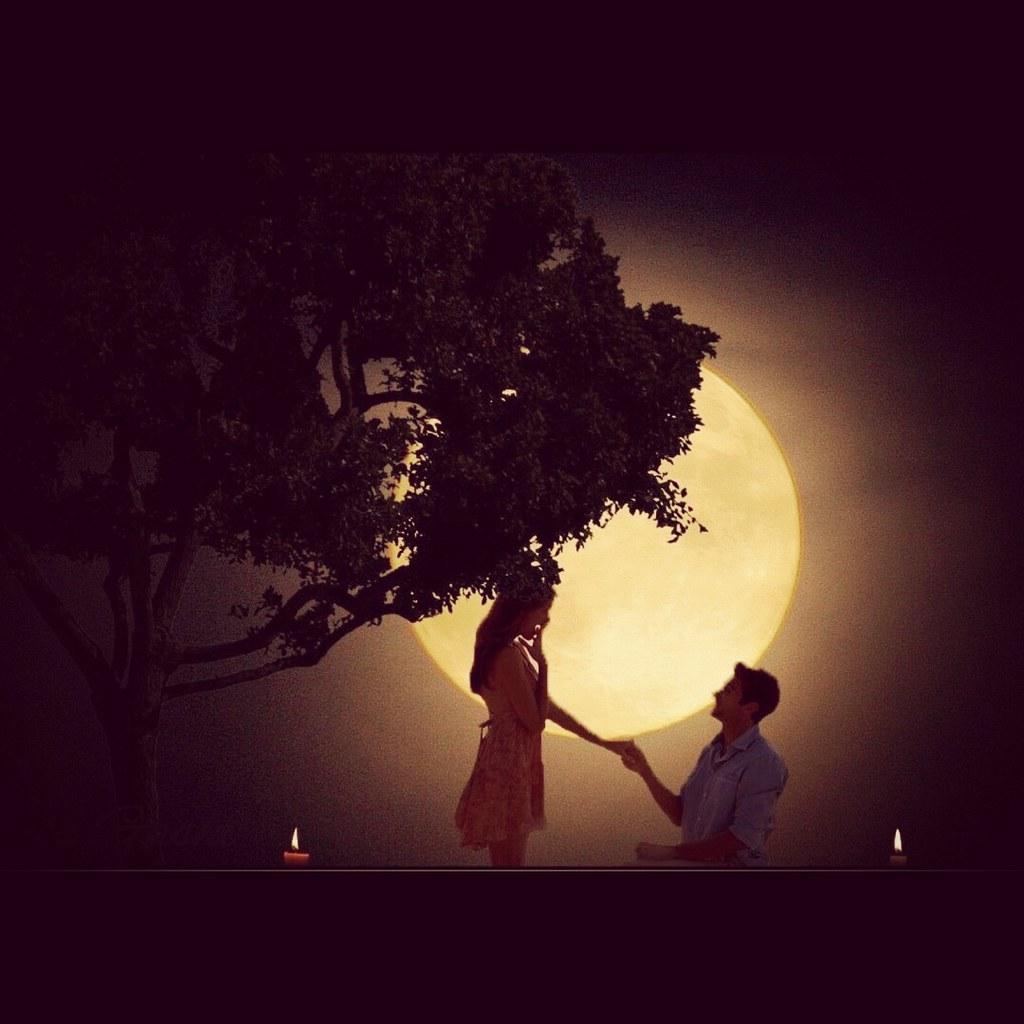 A Girl Proposing A Boy Wallpaper The Moonlight Boy Proposing Girl In Moonlight Arnis