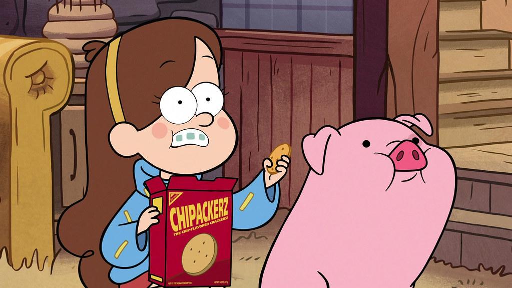 Waddles Gravity Falls Wallpaper Mabel Pines Thinks That Chipackerz Taste Like Chips Flickr