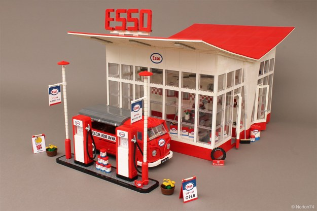 Esso Gas Station