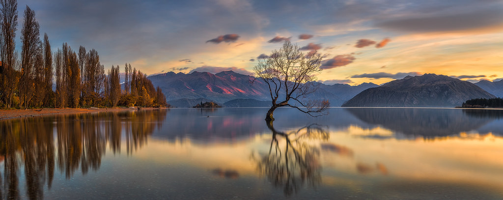 6 X 4 Wanaka Lake Nz Sunrise | Recently I Visited New Zealand