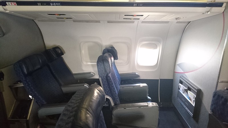 Engine View Seats On Aa39s Md80 Airlinersnet