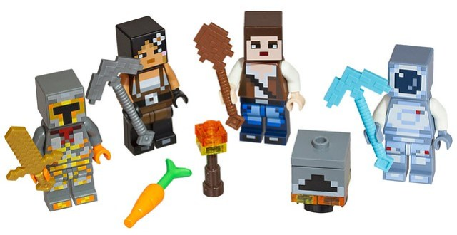 LEGO Minecraft 853610 Skin Pack characters
