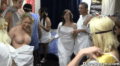 Roman Themed Party In A Dorm