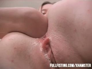Hot Lesbian Teen Anal Fisting