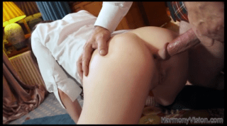 Euro Student Gets Fucked In The Ass