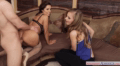 Teen Model Seduced Into A Glorious Threesome