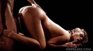 Sweat And Passionate Sex In Dark