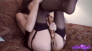 Dirty Slut Toying Her Hole