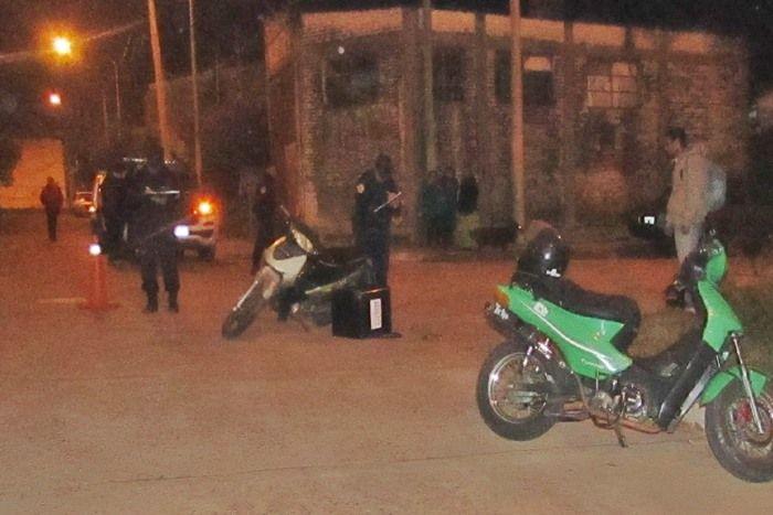 choque de motos