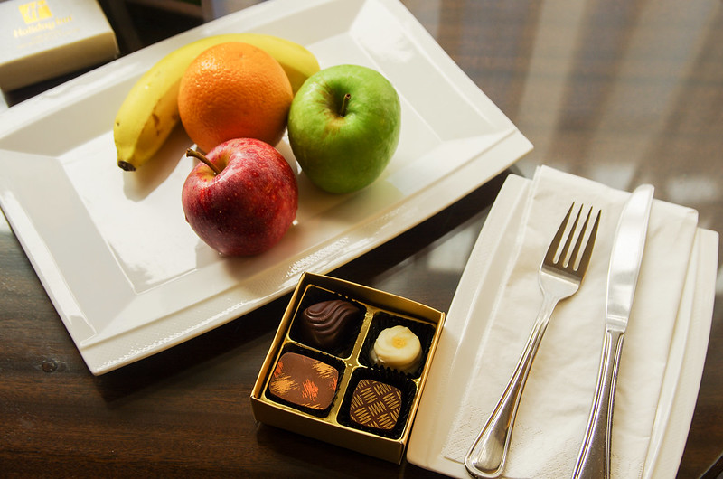 welcome amenities - holiday inn singapore orchard city centre