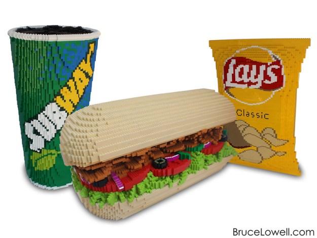 LEGO Subway Sandwich Meal