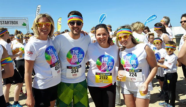Ready for the Color Run #happiest5k
