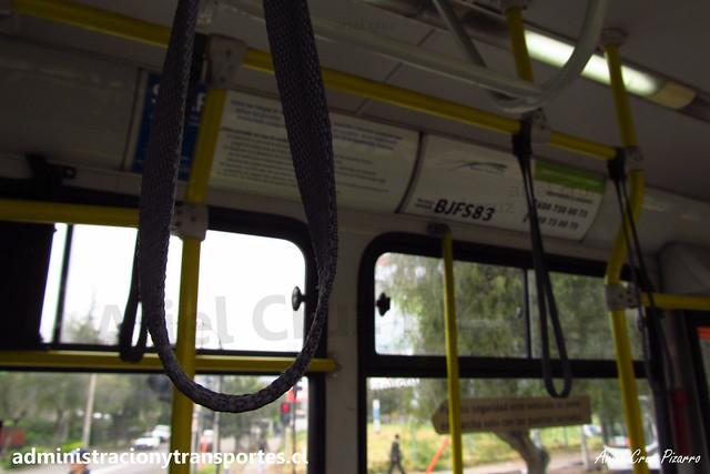 Transantiago E04   Buses Vule   Caio Mondego H - Mercedes Benz / BJFS83