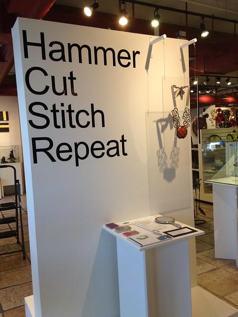 Hammer Cut Stitch Repeat