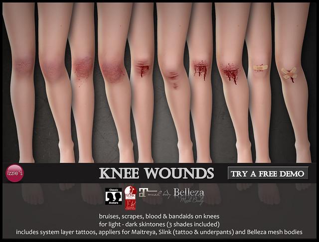 Knee Wounds (@ TLC)
