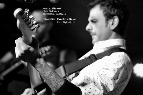 LIFANTE - Sala Sidecar - Bcn 17/6/16
