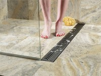 QuARTz by Aco Linear Shower Drain Metal Covers in ...