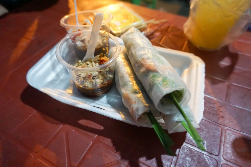 Sring Rolls, Ho Chi Minh City, Vietnam, April 2016