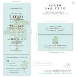 Small Crop Of All In One Wedding Invitations