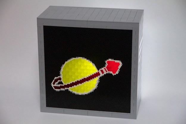 Lego Space Logo Tile Top
