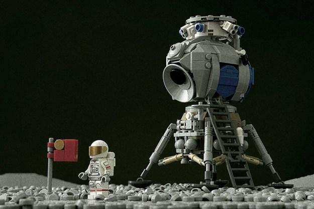 Russian LK Lunar Lander