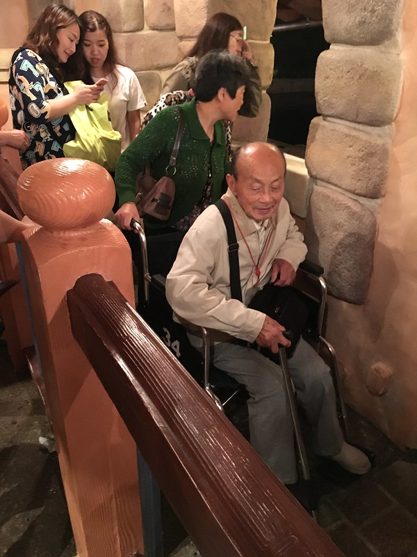 Wheelchair Access at Shanghai Disneyland